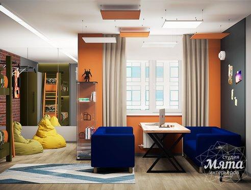 Дизайн интерьера однокомнатной квартиры ЖК Вернисаж